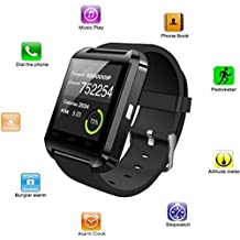 Bingo U8 Smartwatch with smart fitness tracking like sleep monitoring, step counting & answering call via bluetooth connectivity