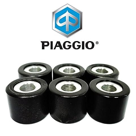 Piaggio Kit 6Rouleaux 19mm 6,4Gr MC3/Zip chat U: DT: E2:-: M.01