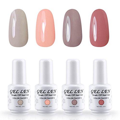 gellen-brand-gel-nail-polish-4pcs-kits-soak-off-uv-led-colour-varnish-manicure-nail-salon-set-8ml-6