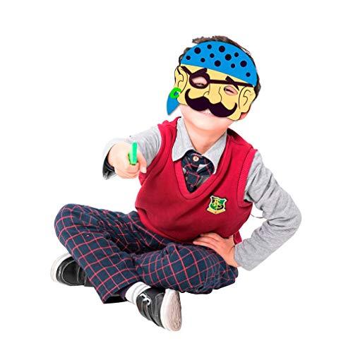BZLine Eva-Schaum Cartoon-Maske Kostüm Party Maske Bevorzugungen Dress-up Kostüm für Party (I)