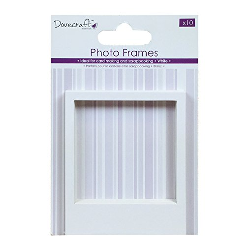 Dovecraft, carta essenziale, Cartoncino, White, Photo Frames