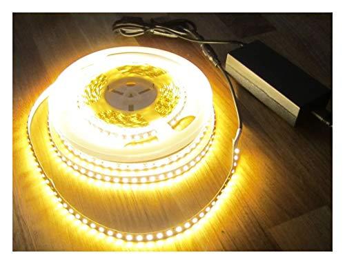 ASS SET 5320 Lumen 10m Led Streifen 1200 LED warmweiß inkl. Netzteil 24 V Pro-Serie