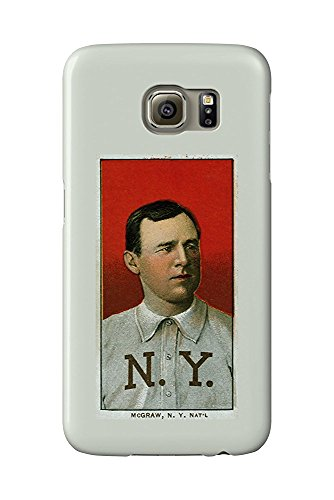 New York Giants - John McGraw - Baseball Card (Galaxy S6 Cell Phone Case, Slim Barely There) -
