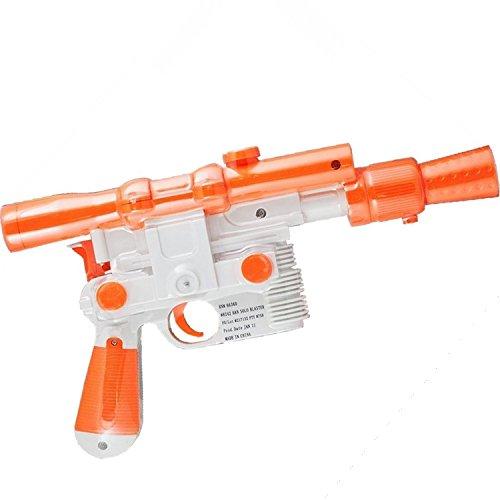 Han Solo Blaster Pistol Star Wars Prop -Kostüm-Zusatz Harrison Ford Gun (Harrison Ford Kostüm)