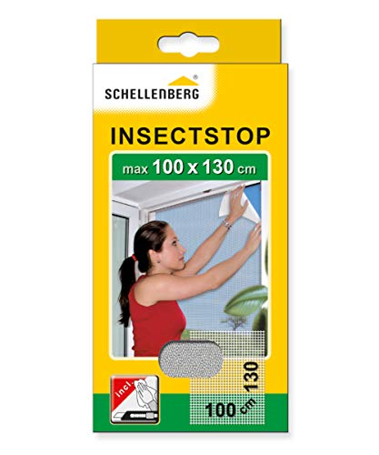 Schellenberg 50712 Insektenschutz ohne Bohren Fliegengitter für Fenster, Schutz vor Mücken, Fliegen, Insekten & Ungeziefer