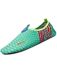 Kuuland Uomini Donne Scarpe da Sport Acquatici Slip On Aqua Sneakers Beach Swim Traspirante Scarpe AD Asciugatura Rapida per il Beach Volley Yoga iX5lF