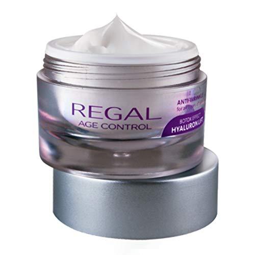 Blueberry Antioxidans (Regal Age Control Anti-Falten Nachtcreme Botox Effect Hyaluron Lift mit ARGIRELINE)