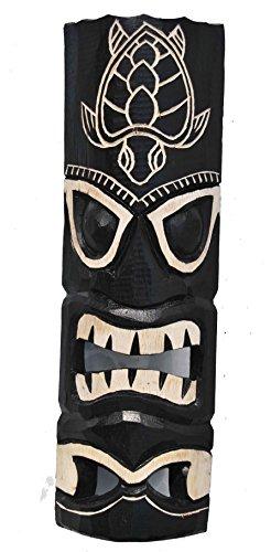 Tiki-pared-Mscara-Tortuga-50-cm-en-Hawaii-Look-Madera-Mscara-Hawaii-Maui-Mscara-Isla-de-Pascua-Kauai