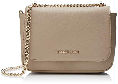 Versace Jeans Bag Borsa tracolla Donna Beige 7x17x24