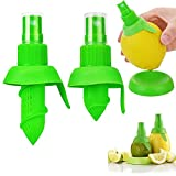 VANUODA - Juego de 2 exprimidores de limón y cítricos, extractor de lima, utensilio de cocina de moda