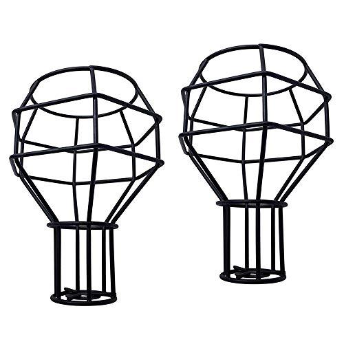 2 PCS Vintage Schmiedeeisen Lampenschirme Käfig Kronleuchter Licht Für Esszimmer Studie Bett Zimmer Innenbeleuchtung Zubehör (691-C)