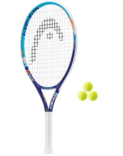 cm Junior Tennisschläger + 3Tennis Balls RRP £40 ()