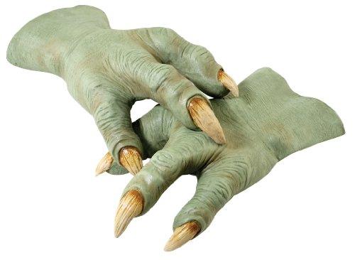 Yoda Latex Hände (Für Erwachsene Kostüme Yoda)