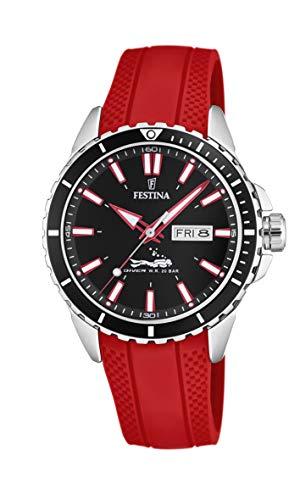 Festina Herren Analog Quarz Uhr mit PU Armband F20378/6
