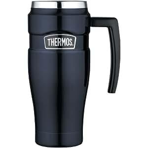 THERMOS SK1000MBTRI4 16-oz Stainless Steel Leak-Proof Travel Mug