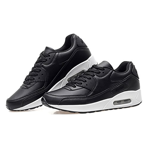 LFEU - Pantofole a Stivaletto Unisex – Adulto Nero