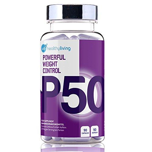 WBP P50 - Sehr Starke Abnehmen Gewichtsverlust & Diät-Pillen - 90 Vegetarische Kapseln