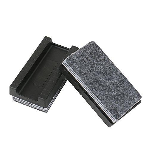 amathings 2er Pack Sparsame Whiteboard Schwamm Mit Je 6 Reinigungs-Schichten Zum Einzeln Entfernen Multilayer In Grau Größe: 93 X 48 Mm Für Trockenreinigung Tafel