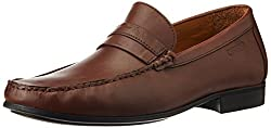 Woods Mens Brown Leather Formal Shoes - 7.5 UK