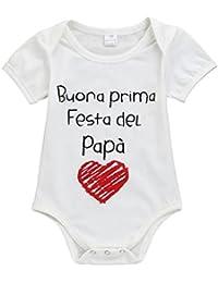 Amazon.it  Bianco - Felpe e tute   Bambina 0-24  Abbigliamento 026c724b7bd
