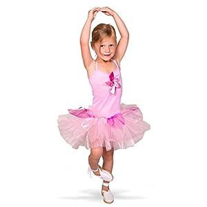 Folat 21866tutú de Bailarina Disfraz de niños (tamaño 116-134, tamaño Mediano)
