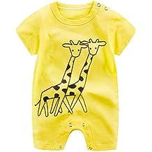 Ropa para bebés,Mono mameluco de dibujos animados lindo mono ropa de escalada