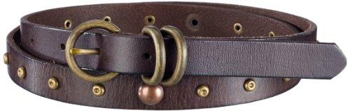 Liebeskind Damen Gürtel LKB605, Gr. 85, Braun (ambra)