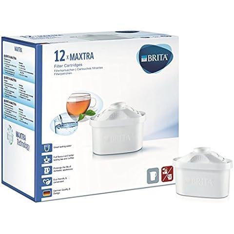 BRITA MAXTRA - Filtro de agua, pack de 12