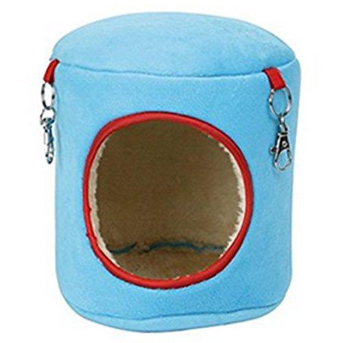 Demarkt Kleine Hamster Nest Hamster Hütte Warmen Bett für Hamster zufällige Farbe (Kleine Hütte Die)