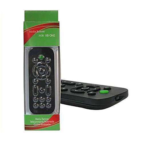 Ochoos Controller Media Fernbedienung TV und Unterhaltung mit Back und OneGuide Tasten Fernbedienung für Xbox One, schwarz