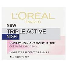 L'Oreal Paris Triple Active Night Cream, 50ml