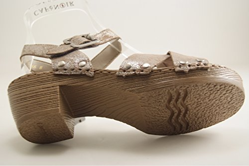 RemonteD6955-42 - Scarpe con plateau Donna Argento