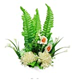 Parishi & W Artificial flower plant glowing arrangement in Plastic Pot