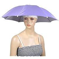 TOOGOO(R)Sombrero paraguas de nylon para pescar al aire libre