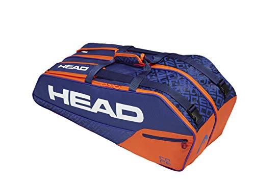 HEAD Core 6R Combi Tennistasche Blau Orange