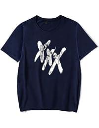 OHQ Camiseta Impresa para Hombres Blancos Hombres Impresión Camisetas Camiseta Manga Corta Blusa Humor Pareja Hombre Deporte Moda OthfEHyX3c