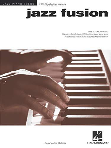 Jazz Fusion: Jazz Piano Solos Series Volume 54 (Hal Leonard Jazz Piano)