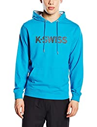 K Swiss Sudadera con Capucha K Spell Out Hd II Azul Royal L