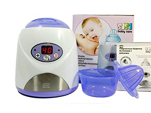 Sisi Baby SBC de 002e babykostwärmer électronique avec écran LCD–Chauffe-Biberon pour la maison
