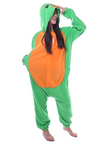 Honeystore Unisex Erwachsene Neu Tier Cosplay Meeresschildkröte Kostüm Siamesische Kleidung Pyjamas (Gute Halloween-kostüme Für Gruppe 3)
