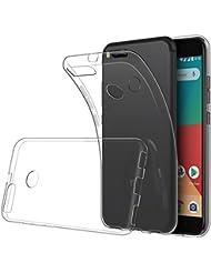 Funda Xiaomi Mi 5X / Xiaomi Mi A1, Simpeak Fundas Transparente Xiaomi Mi5X Carcasa Xiaomi Mi 5X funda (5,5 Pulgadas) Silicona TPU Case
