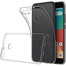 Simpeak Funda Compatible Xiaomi Mi A1 (5,5 Pulgadas), Fundas Transparente Silicona