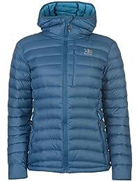 Karrimor Womens Alpiniste Down Jacket Coat Top Chin Guard Water Resistant