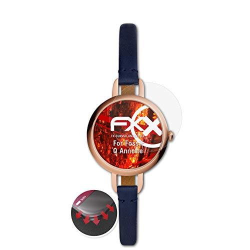 atFoliX Protettiva di Schermo alta Protezione compatibile con Fossil Q Annette Anti-Shock Pellicola protettiva, antiriflesso e...