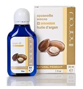 Argan Oil + Anti-Oxidant (Rosemary) For Smooth, Glowing Skin & Shiny, Healthy Hair - 100% Pure & Natural -30ml