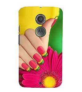 PrintVisa Delicate Flower 3D Hard Polycarbonate Designer Back Case Cover for Motorola Moto X2 :: Motorola Moto X 2nd Gen :: Motorola Moto X 2014 :: Motorola Moto X+1