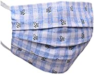 Dethnic cotton linen Reusable Cloth Mask (Multicolor, printed, Combo Pack) for Unisex