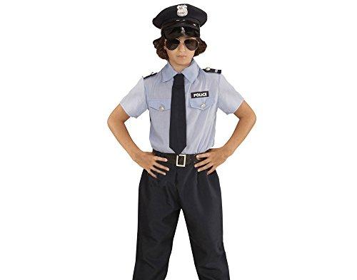 Widmann 04024 Kinderkostüm Polizei, 104 (Polizei Outfit Für Kinder)