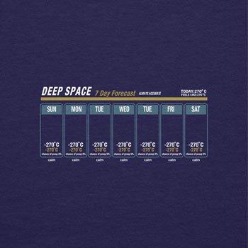 NERDO - Deep Space Weather Forecast - Herren Kapuzenpullover Navy