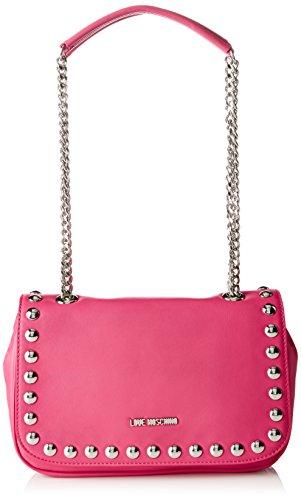 Love-Moschino-Damen-Schultertasche-Pink-Fuchsia-10-x-17-x-30-cm